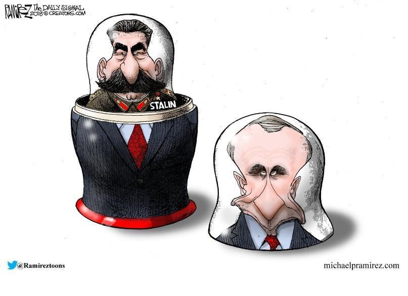 Путін бачить себе спадкоємцем Сталіна - Портников