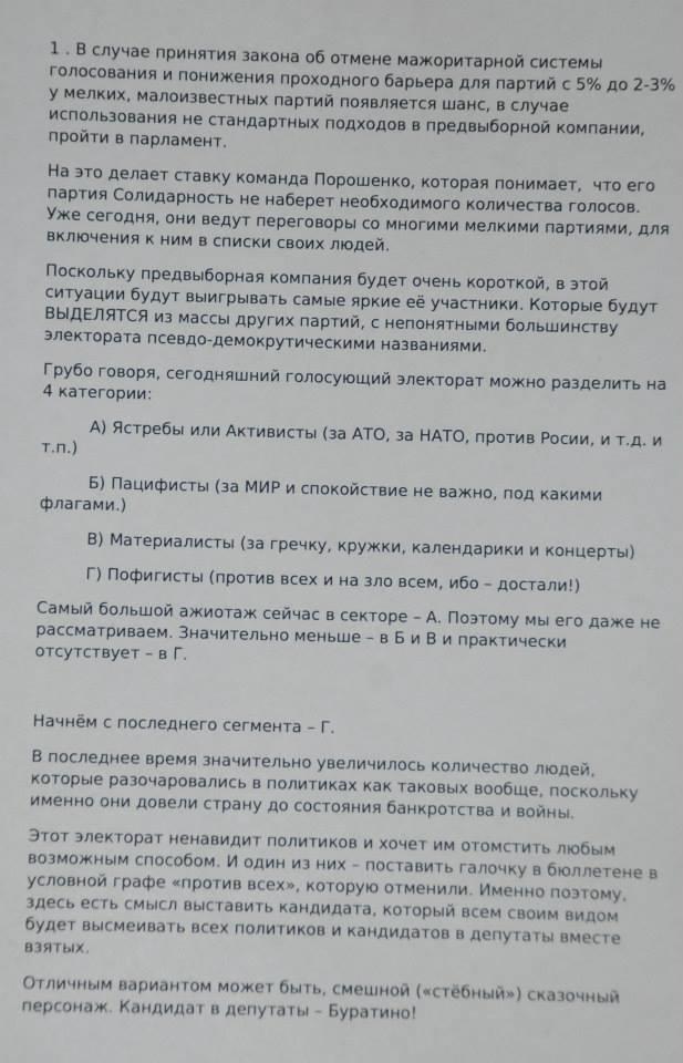 Зе Буратіно? План зі зламаної російської бази документів нагадує кампанію Зеленського 4