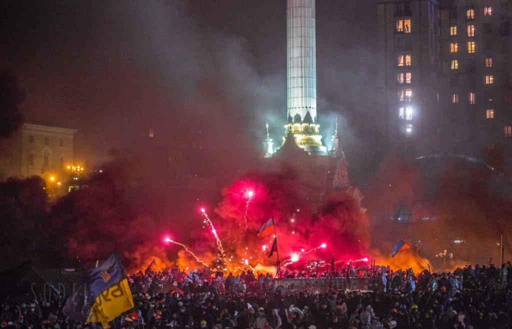 Кремлівська пропаганда спотворює пам'ять про Революцію гідності 1