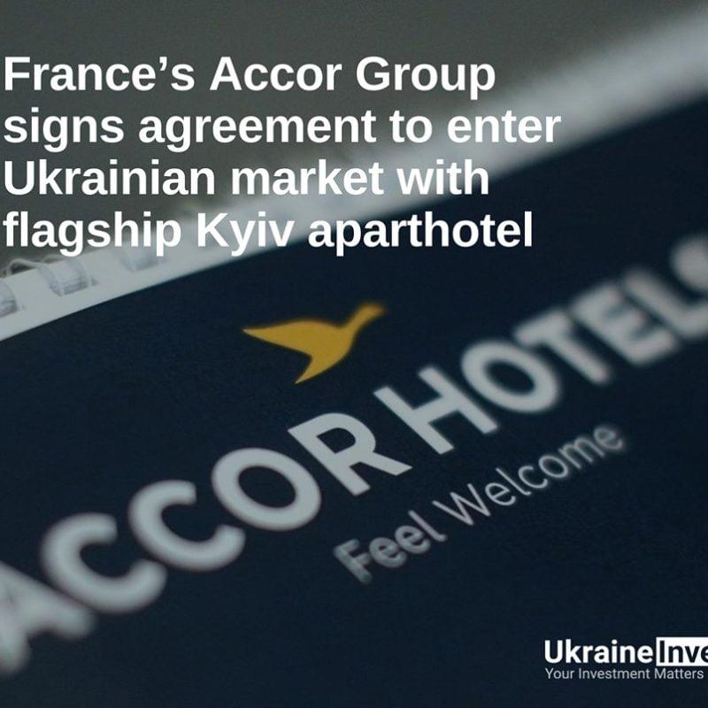 AccorHotels is entering Ukrainian market
