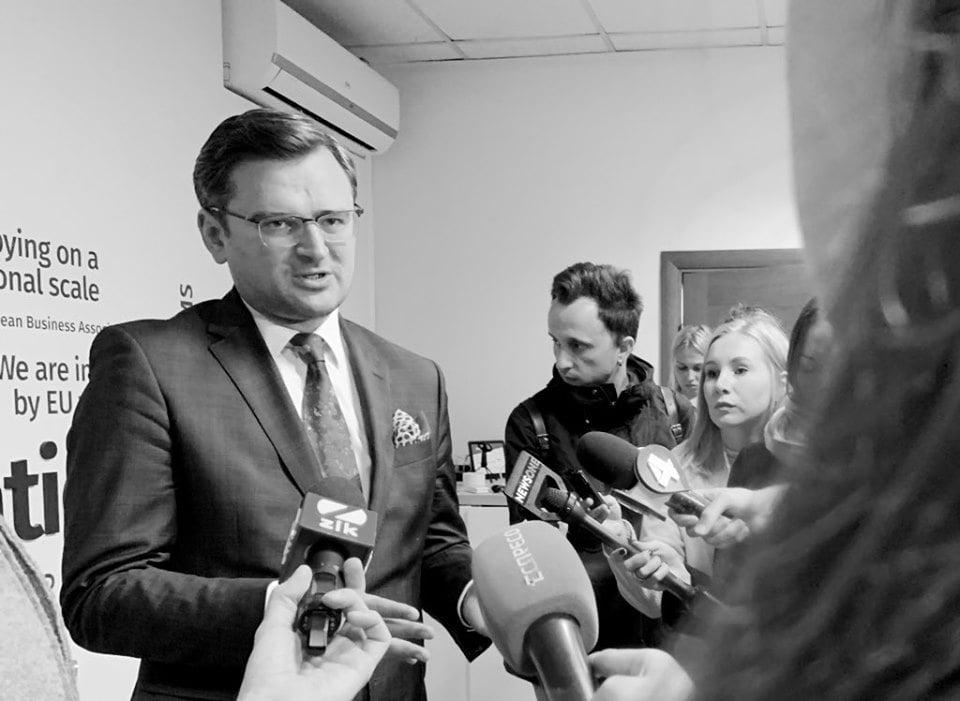 Кулеба дійшов до точки коли йому треба знати чи візьмуть Україну в ЄС 1