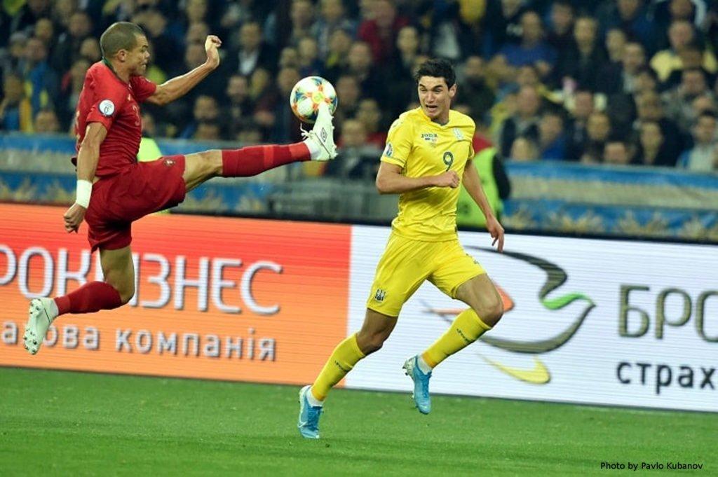 Україна достроково вийшла на Євро-2020, обігравши Португалію 1