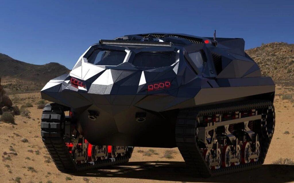 Ukrainians develop electric multi-role armored vehicle 8