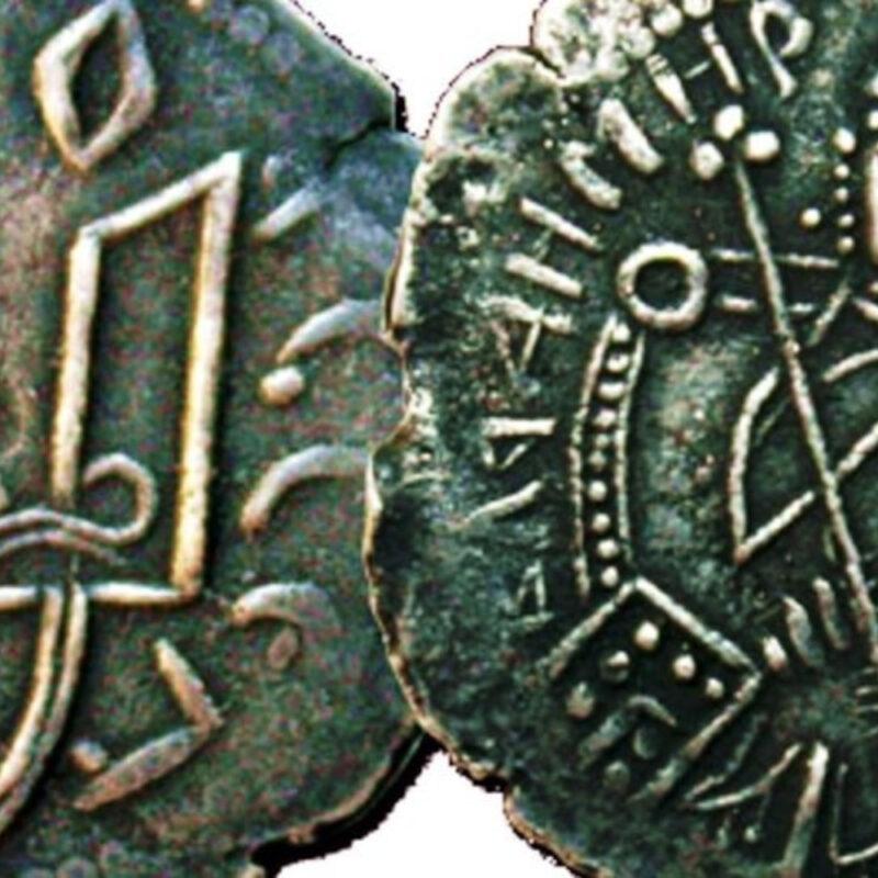 Історія гривні. Перші гривні зображували князів в українському стилі – вони були вусаті
